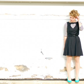 twentysomething DIY: Heart Cutout Dress